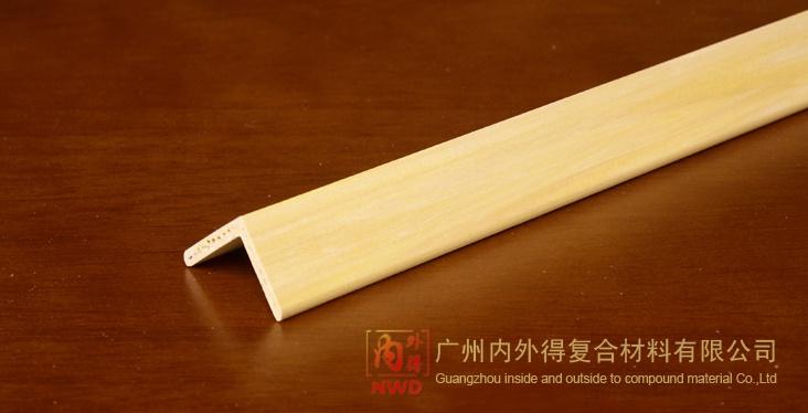 名称 生态木塑复合材料边条系列 30x30角线 高清图片